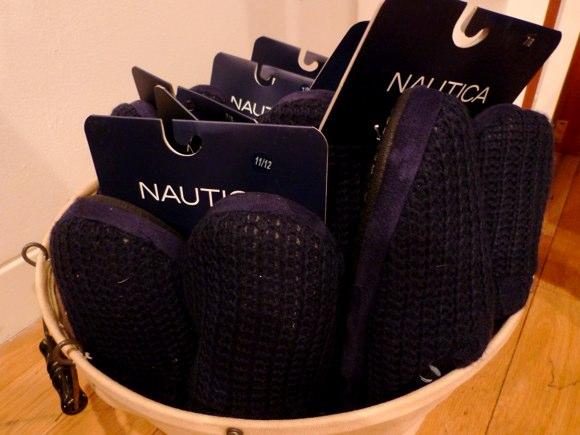 nautica mens slippers
