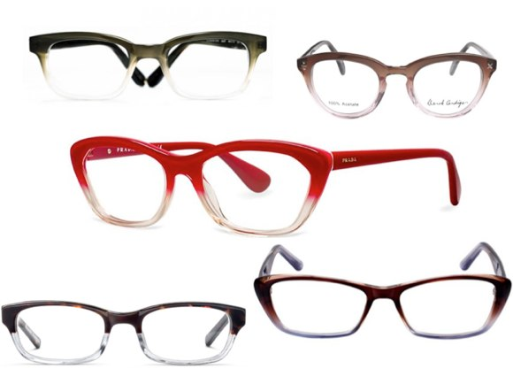 gradient eyeglasses