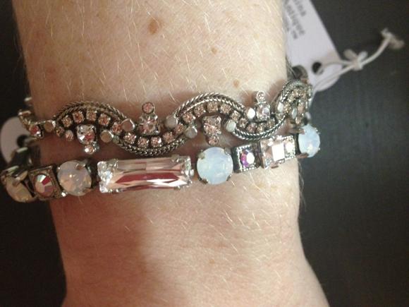my bridal bracelets