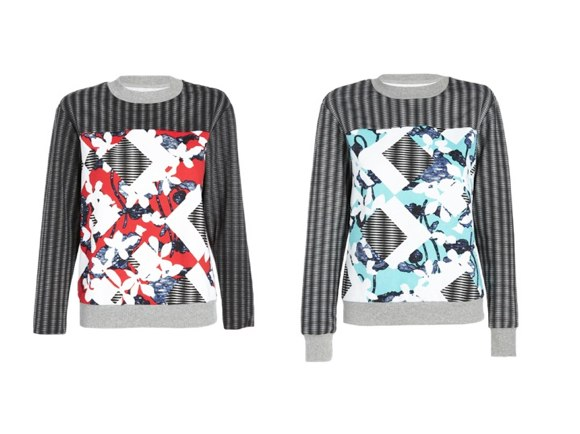 peter pilotto for target sweatshirts