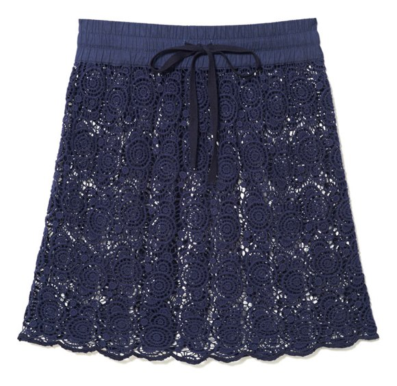 spring lace skirt