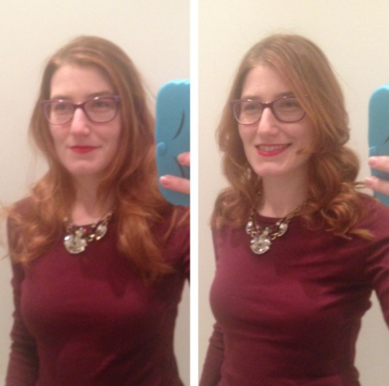 before + after Vidal Sassoon
