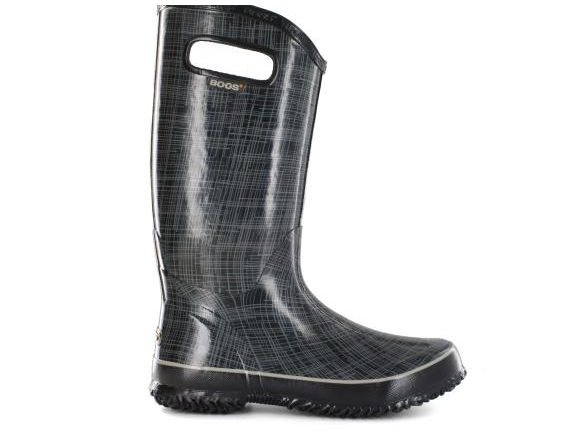 bogs linen Rainboot $80