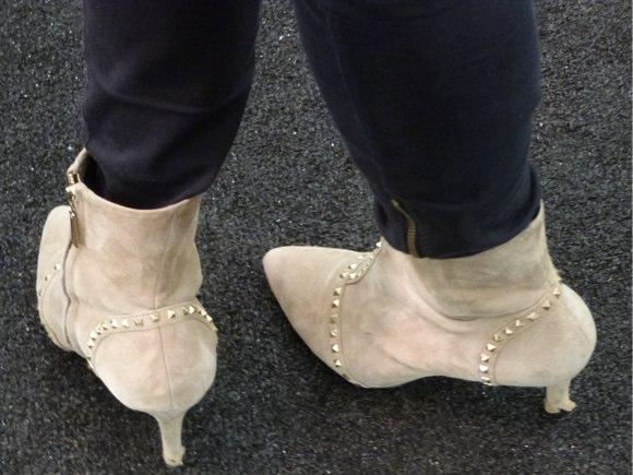 feet of fashion week