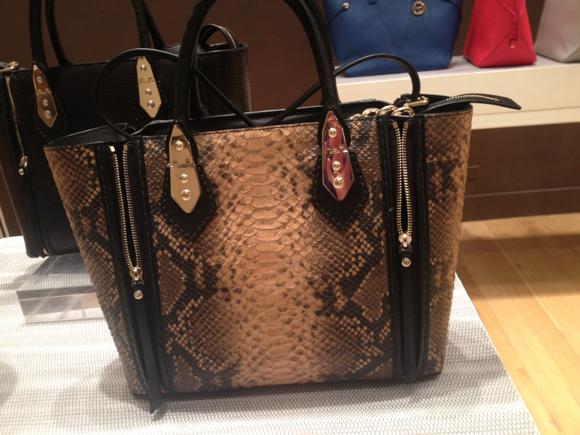 hb snakeskin bag