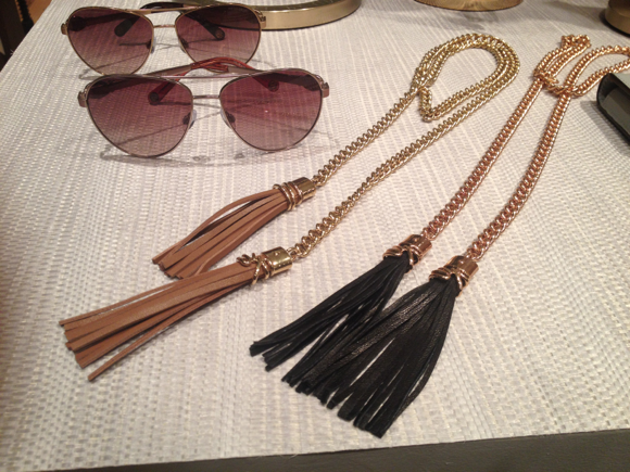 hb tassel necklaces