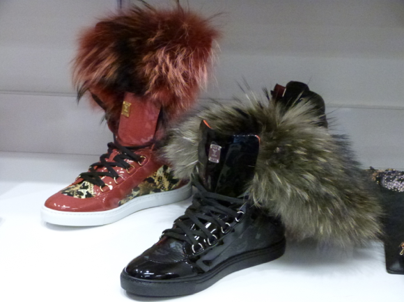 fur sneakers mcm fall 2014