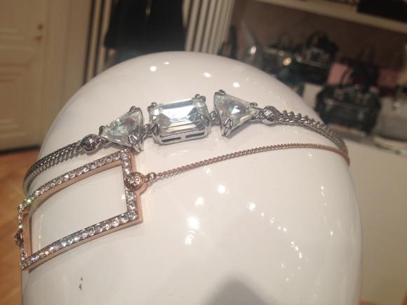 Henri Bendel Fall 2014 Hairband Jewels