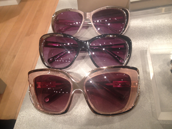 Henri Bendel sunglasses fall 2014
