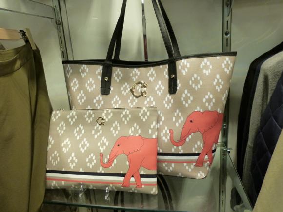 c wonder elephant bag