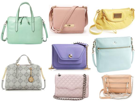 pastel handbags