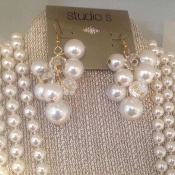 sears studio S pearls