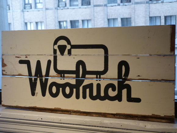 woolrich sign