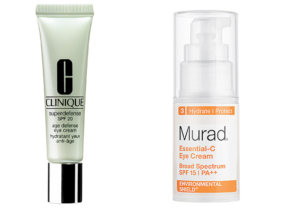 eye cream with SPF