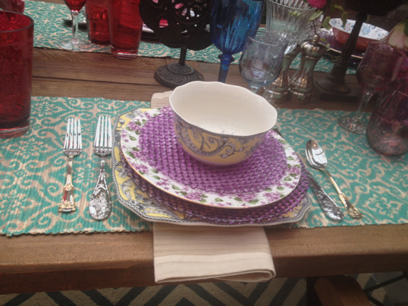 table setting homegoods