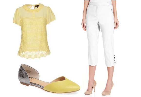 yellow and white trend