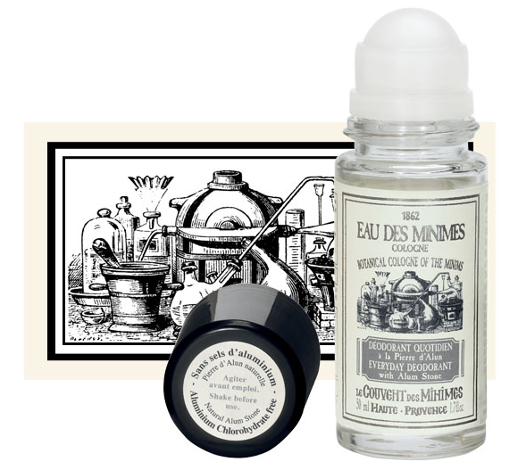 Le Couvent des Minimes Eau des Minimes Everyday Deodorant with Alum Stone