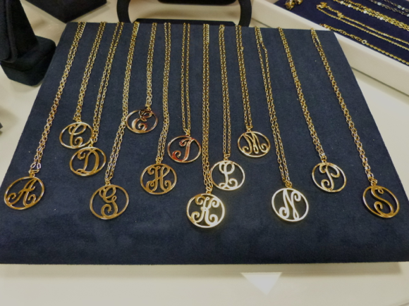 C. Wonder Monogram necklaces