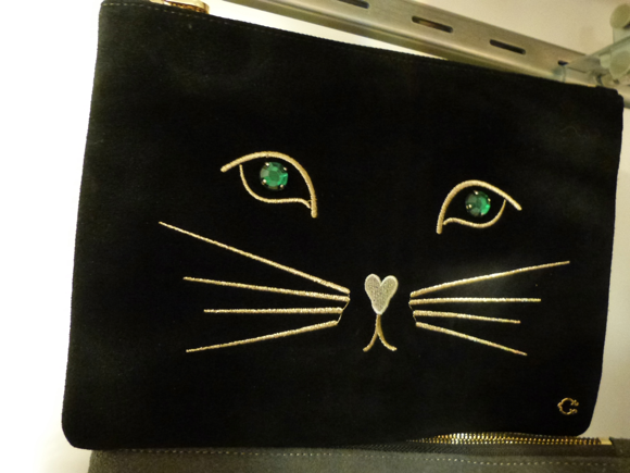 C.Wonder holiday 2014 kitty pouch