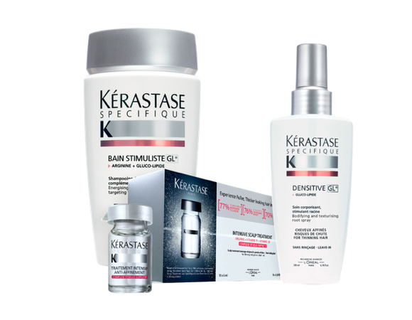 Kerastase specifique thinning hair products