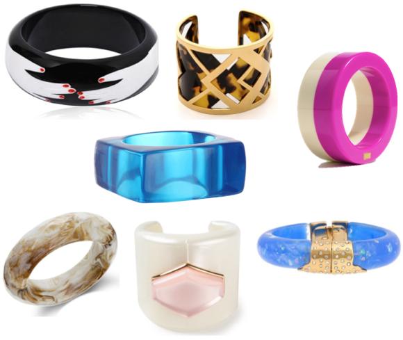 resin bracelet trend