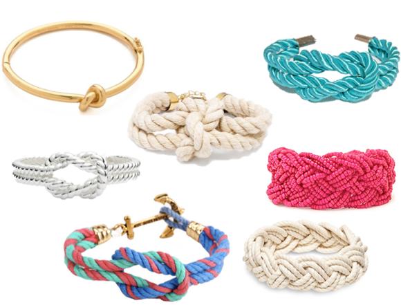 sailor knot bracelet trend