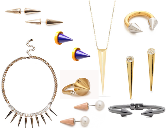 the it accessory spiky jewelry trend