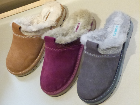 Sorel slippers fall winter 2014