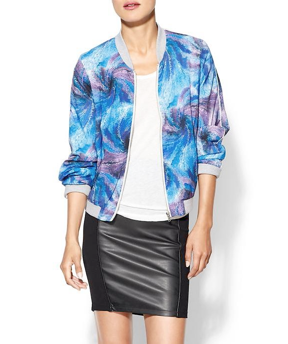 lollie shopping printed jacket trends