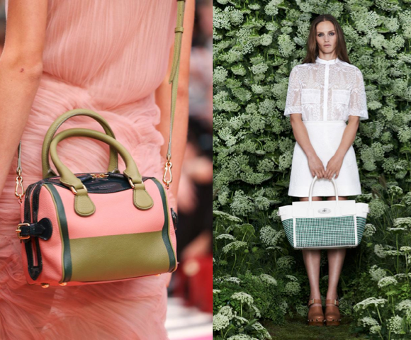 Burberry Prorsum, Mulberry; spring 2015 collections
