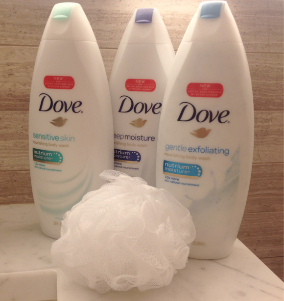 Dove NutriumMoisture body washes