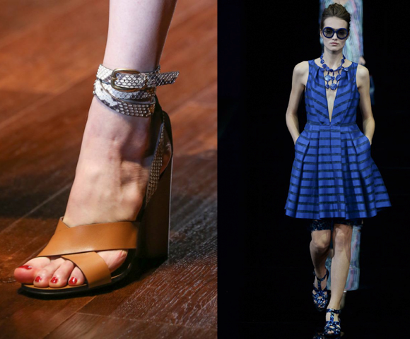 Gucci, Emporio Armani spring 2015 collections