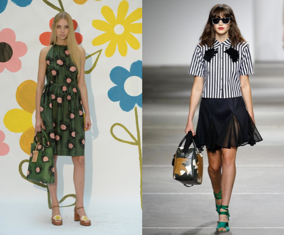 Orla Kiely, Topshop Unique spring 2015 collections