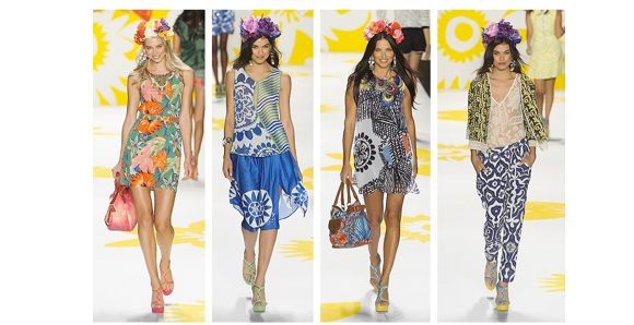 Desigual spring 2015 collection