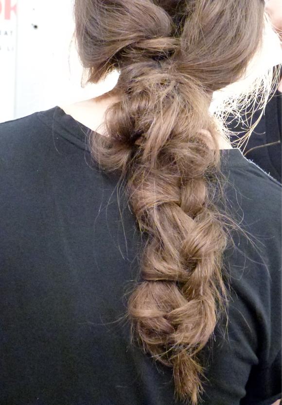 mara hoffman TIGI braids