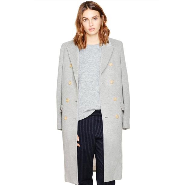 [Aritzia Babaton Bryan Wool Coat, $350]