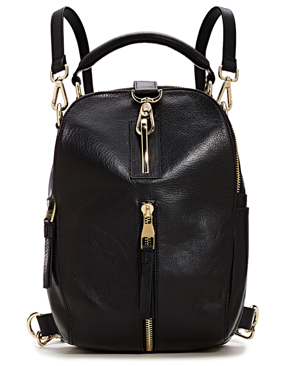Black Strap Backpack MA