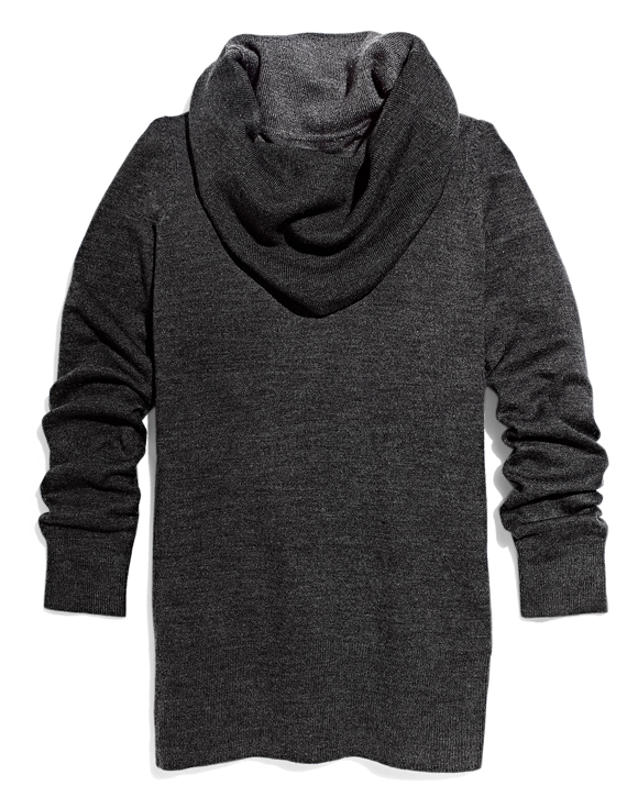 Grey Cowl Neck Sweater TJ