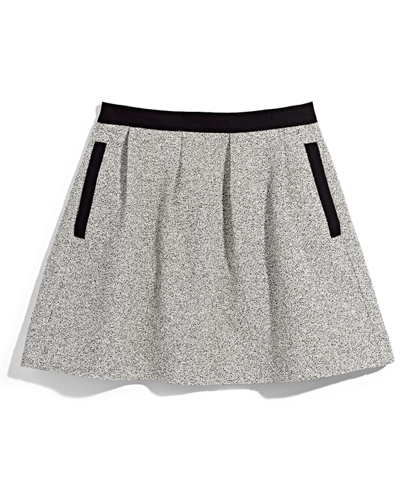 Grey and Black Skater Skirt TJ