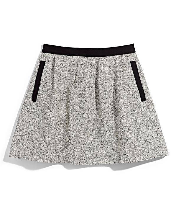 Grey and Black Skater Skirt TJ