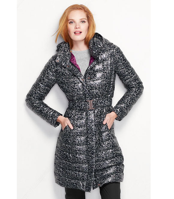 [Lands' End  Lightweight Down Packable Coat, $169]