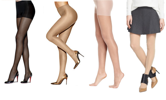 312fc6aa9 The It Accessory  Sheer Pantyhose Are Back!