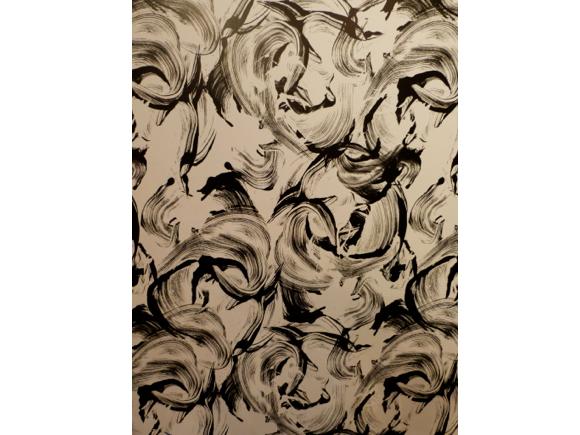 brush strokes painted trend; Tempaper