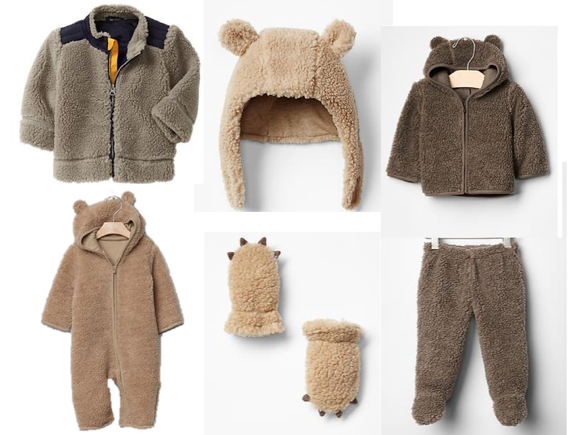 gap sherpa kids
