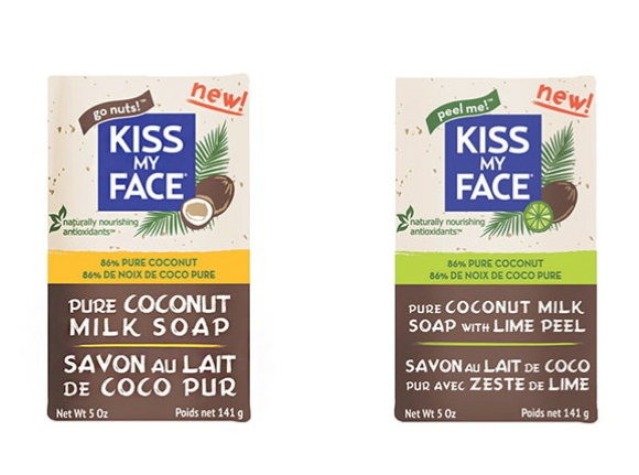 kiss my face pure coconut milk soap