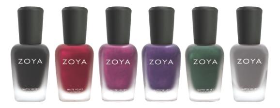 zoya matte nail polish -1