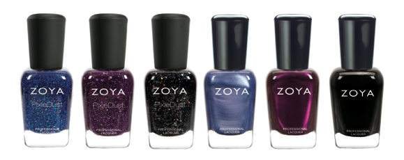 zoya pixiedust shades