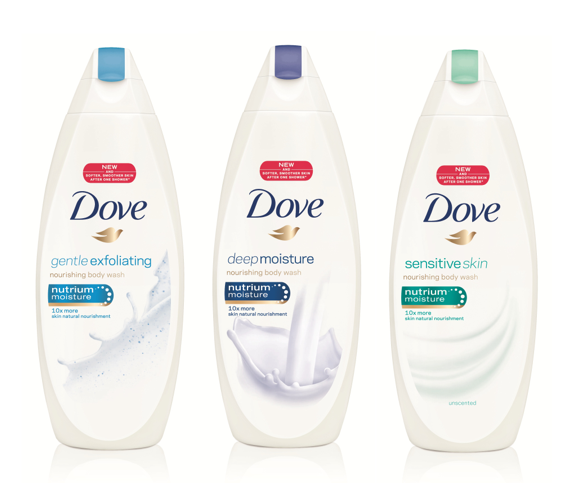 Dove Nutrium Moisture Body Wash