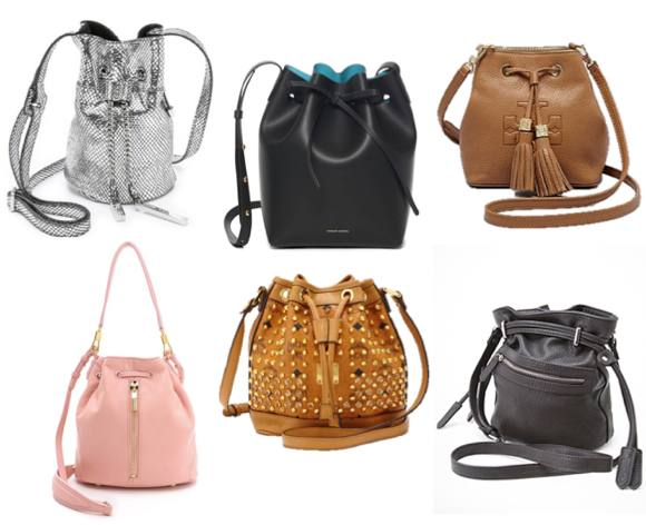 mini bucket bag trend