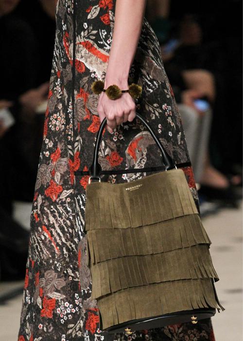 Burberry Prorsum fall 2015 handbag